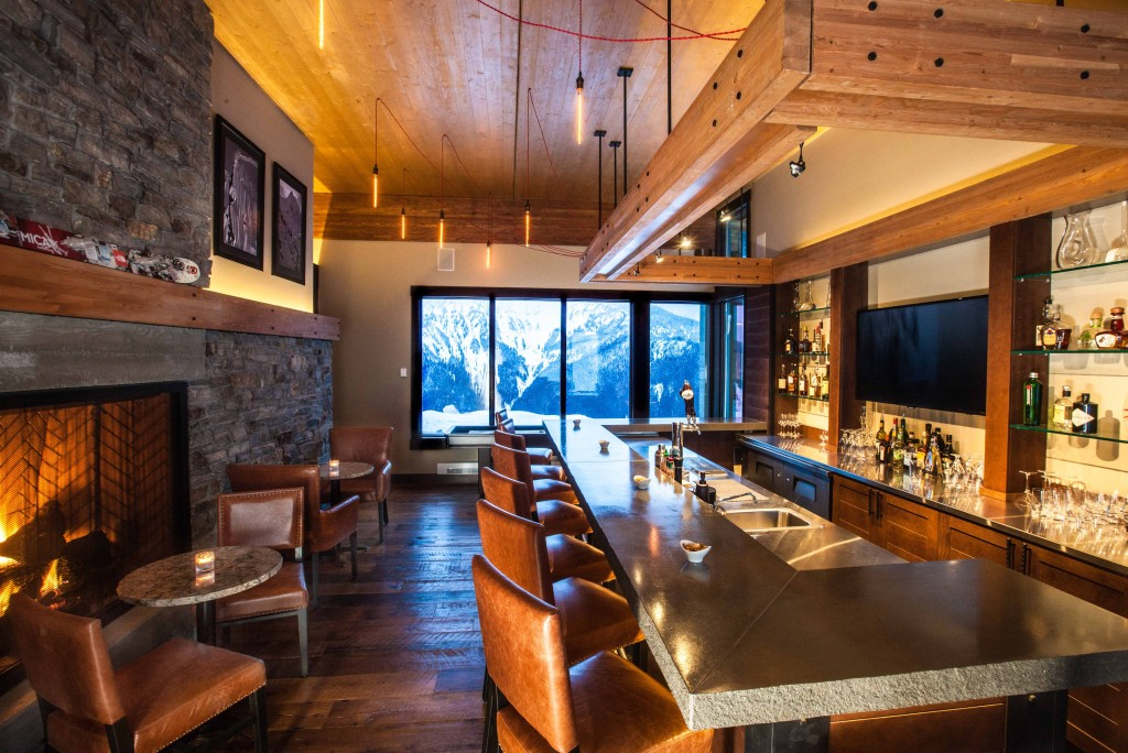 Mountain cabin interiors joy studio design gallery for Mountain lodge architecture